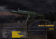 Fc5 weapon mp5sd skin green