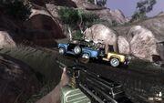 FC2 Bug Сцепившиеся боевые грузовики