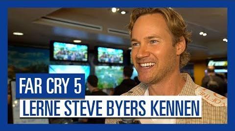 Far Cry 5 – Lerne Steve Byers, die Stimme von Nick Rye, kennen Ubisoft DE