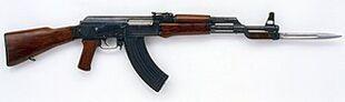 An AK-47 in reality