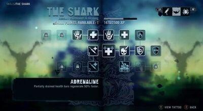 Shark Skill tree
