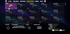 Signature Weapons FC4