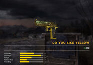 Fc5 weapon d50 skin yellow