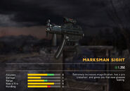 Fc5 weapon mp5k scopes marksman