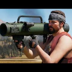 Hurk em <i>Far Cry 5</i>.