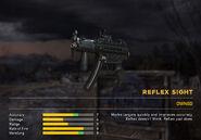 Fc5 weapon mp5k scopes reflex