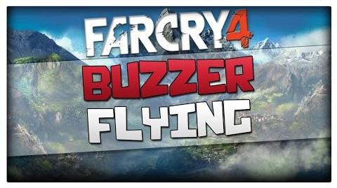 Far Cry 4 - Buzzer Flying Gameplay + How to Find it (FC4 One Seated Helicopter)