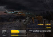 Fc5 weapon ak47 scopes reflex