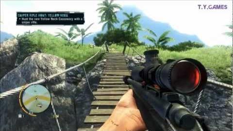 Far Cry 3 - Yellow Neck Cassowary Hunt