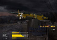 Fc5 weapon m249 skin yellow