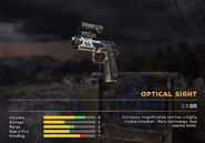 Fc5 weapon m9 scope optical