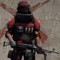 Тяжеловес-пулемётчик-командир