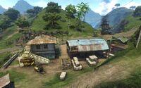 FC3 Лагерь на восточной гряде