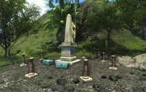 FC3 Юг Памятник
