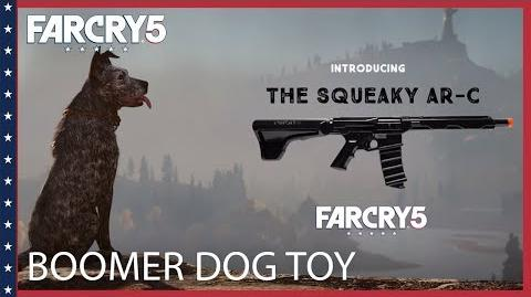 Far Cry 5 The Boomer Dog Toy Trailer Ubisoft NA