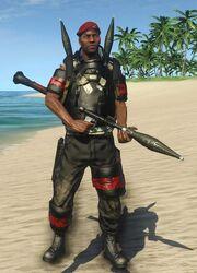 Pirate RPG Shooter Boss