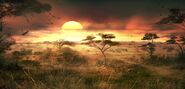 FC2 concept African sunset