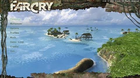 FAR CRY (2004) - main menu ULTRA MAX, 4K