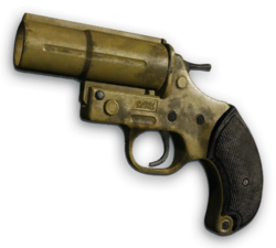 FC3 cutout handgun flaregun