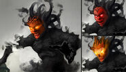 FC3 Концепт-арт чернильного чудовища
