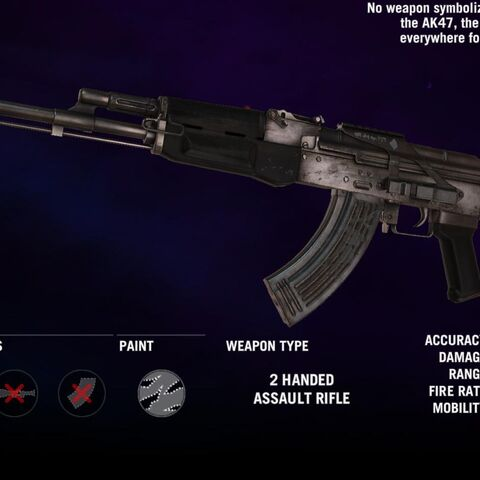A arma no <i>Far Cry 4</i>.