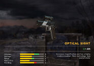 Fc5 weapon 1911 sight optical