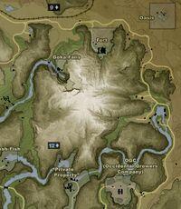 FC2 Гора Табамолетса Карта