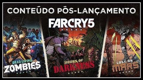 Far Cry 5 Expansões, Passe de Temporada, Far Cry Arcade e pós-lançamento! Trailer