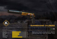 Fc5 weapon 1911gold barrel suppc
