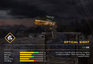 Fc5 weapon 1911gold sight optical
