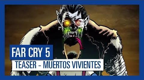 Far Cry 5 MUERTOS VIVIENTES Teaser Trailer Ubisoft