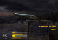 Fc5 weapon d2 skin green