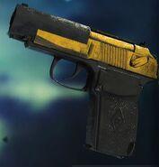 6П9 Двуцветный жёлтый
