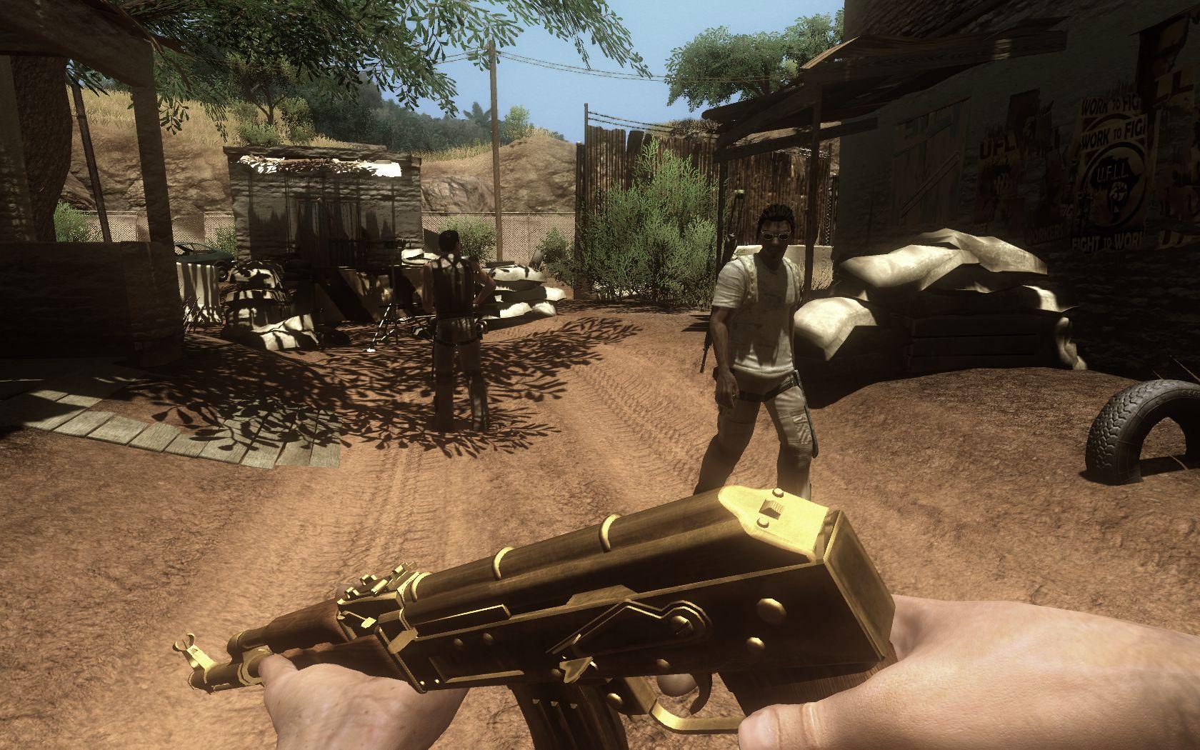 Golden AK-47s   Far Cry 2 Wiki   FANDOM powered by Wikia