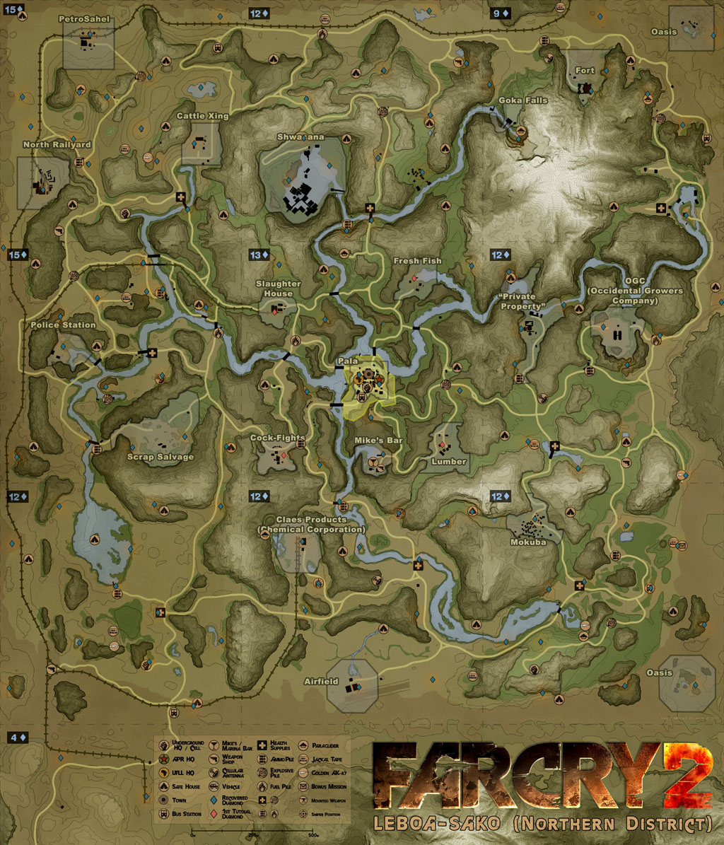 Diamond Cases Far Cry 2 Wiki Fandom