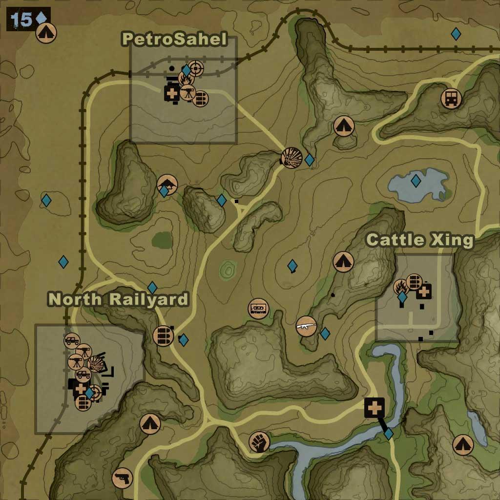 Maps Far Cry 2 Wiki Fandom