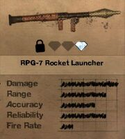 FC2 MP RPG-7 Rocket Launcher