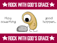 ROCK WITH GOD'S GRACE