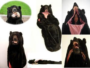 84 bear sleeping bag