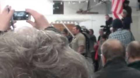 Oregon Standoff - Sherrif speaks out at conference