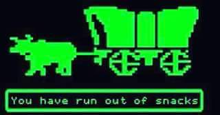image oregon trail meme you have run out of snacks thread 8986384