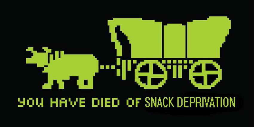 image oregon trail meme you have died of snack deprivation thread