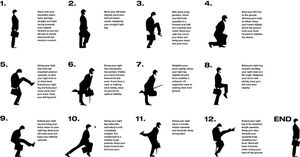 95 silly walk instructions