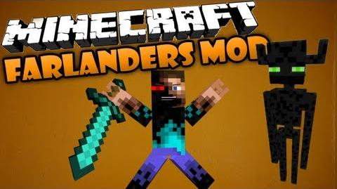 Minecraft Farlanders mod - COLOSSUS ENDERMAN!
