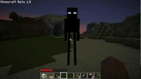 Minecraft 1.8 Enderman Fanmade