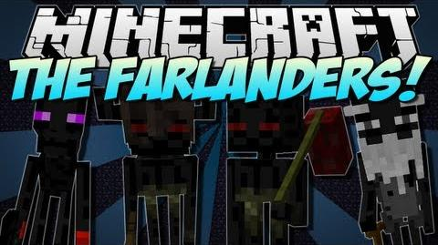 Minecraft THE FARLANDERS! (NEW Endermen Race!) Mod Showcase 1.5
