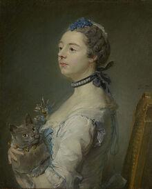 Jean-Baptiste Perronneau - Magdaleine Pinceloup de la Grange, née de Parseval