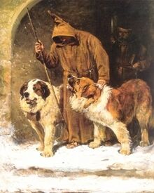 St. Bernards - To The Rescue by John Emms (artist)
