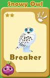 Breaker Snowy Owl A