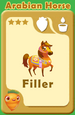 Filler Arabian Horse A